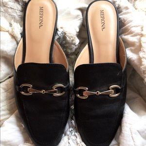 Black Slide Shoes